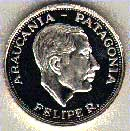 Coin with the image of Prince Philippe